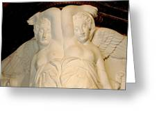 Chateau De Chenonceau Angels Greeting Card