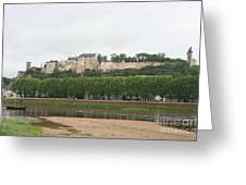 Chateau De Chinon - France Greeting Card