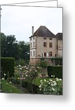 Chateau De Cormatin - Burgundy Greeting Card