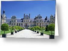 Chateau De Fontainebleau Ile De France Greeting Card