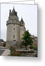 Chateau De Langeais Tower Greeting Card