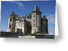Chateau De Saumur Greeting Card