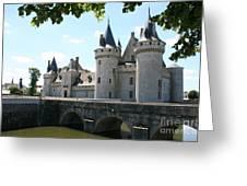 Chateau De Sully-sur-loire Greeting Card