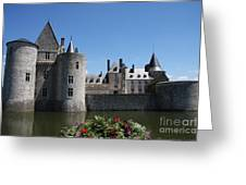 Chateau De Sully-sur-loire View Greeting Card