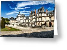 Chateau Fontainebleau - France Greeting Card