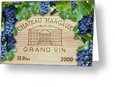 Chateau Margaux Greeting Card