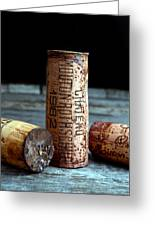 Chateau Mouton Rothschild Cork Greeting Card