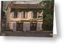 Chateau No 1 Rue Moulins France Greeting Card