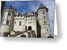 Chateau Saumur  Greeting Card