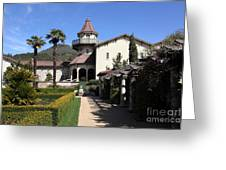 Chateau St. Jean Winery 5d22199 Greeting Card