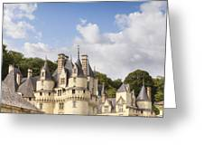 Chateau Usse Loire Valley France Greeting Card by Colin and Linda McKie