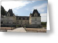 Chateau Villandry Greeting Card