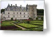 Chateau Villandry - Usefulness And Ornament  Greeting Card