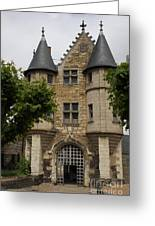 Chatelet - Chateau D'angers  Greeting Card