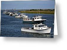Chatham Harbor Greeting Card