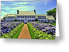 Chatham House Greeting Card by Allen Beatty