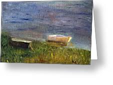 Chatham Rowboats Greeting Card