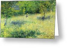 Chatou After Renoir Greeting Card