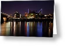 Chattanooga At Night Greeting Card