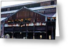 Chattanooga Pipe And Whetland Warehouse 12 Greeting Card