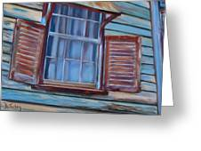 Chattel House Greeting Card
