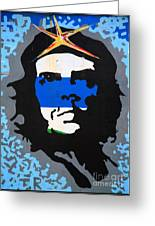 Che Guevara Picture Greeting Card