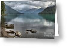 Cheakamus Lake - Squamish British Columbia Greeting Card