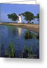 Cheboygan Crib Light - Fs000378 Greeting Card