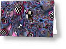 Checker Greeting Card