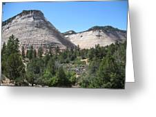 Checkerboard Mesa Greeting Card