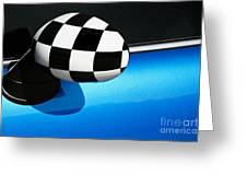 Checkered Finish Greeting Card