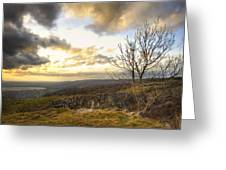 Cheddar Gorge Greeting Card