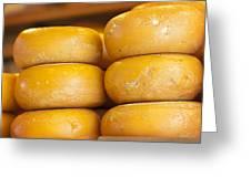 Cheese Wheels Greeting Card