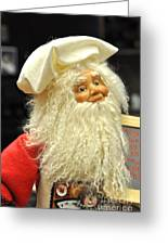 Chef Santa Greeting Card