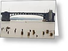 Chehalis River Aberdeen Wa Greeting Card