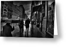 Chelsea Rain Greeting Card