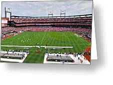 Chelsea Vs Manchester City At Busch Greeting Card