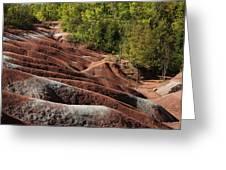 Mars On Earth - Cheltenham Badlands Ontario Canada Greeting Card