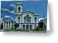 Chemung County Courthouse Greeting Card