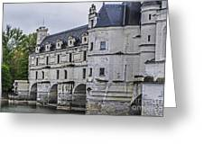 Chenonceau And River Cher Greeting Card
