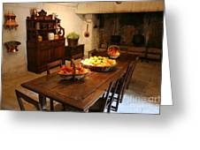 Chenonceau Kitchen  Greeting Card