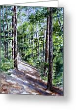 Cheraw Trail Greeting Card