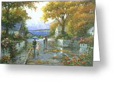 Cherished Fondness Greeting Card by Ghambaro