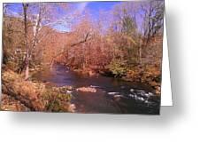 Cherokee River Greeting Card