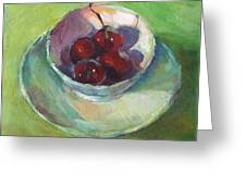 Cherries In A Cup #2 Greeting Card