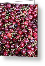Cherries In Des Moines Washington Greeting Card