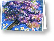 Cherry Blossom Spring. Greeting Card