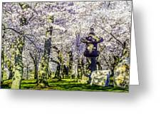 Cherry Blossoms 2014. Greeting Card