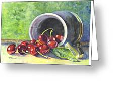 Cherry Pickins Greeting Card