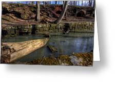Cherry Valley Coke Ovens Greeting Card